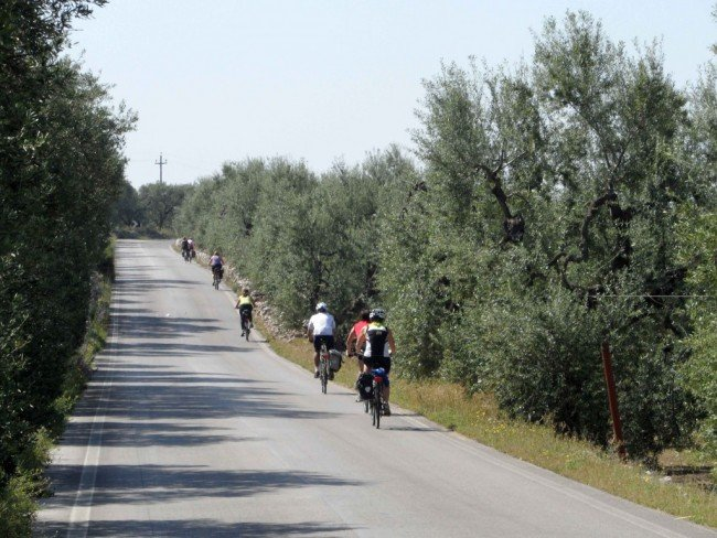 Cycling in Bari: the Cycle Route of the Borboni