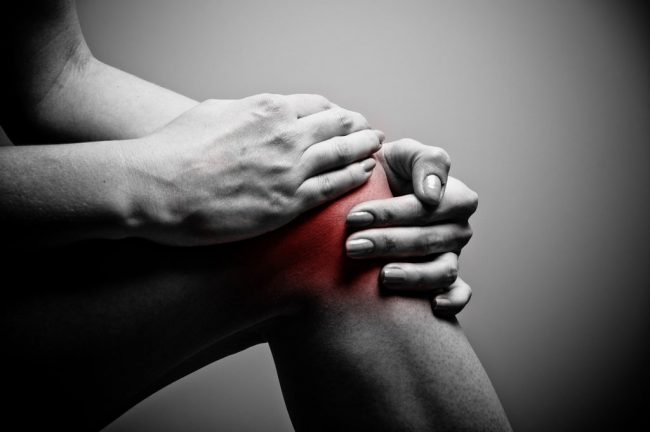 Knees pain in cycling