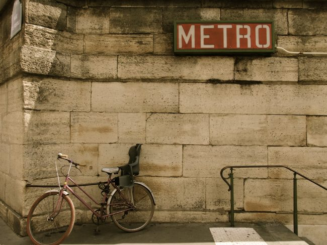 Guidelines for bike transport in the metro of european capitals