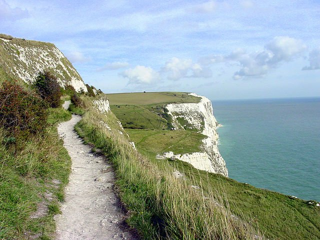 London-Dover route by bike