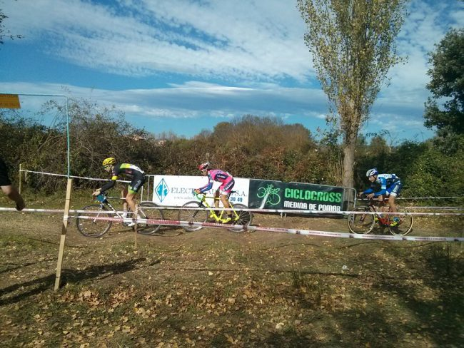 Start the workout for cyclocross