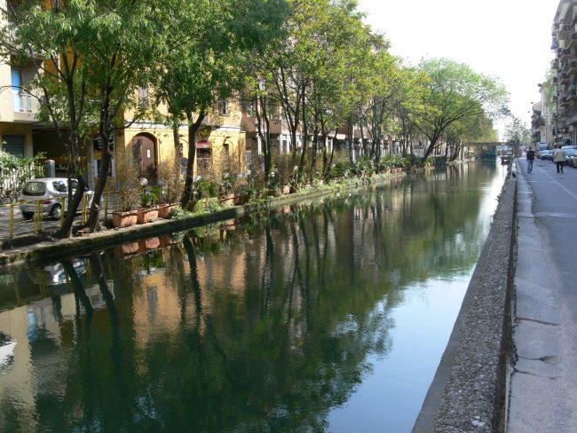Bicycle touring itineraries in Milan
