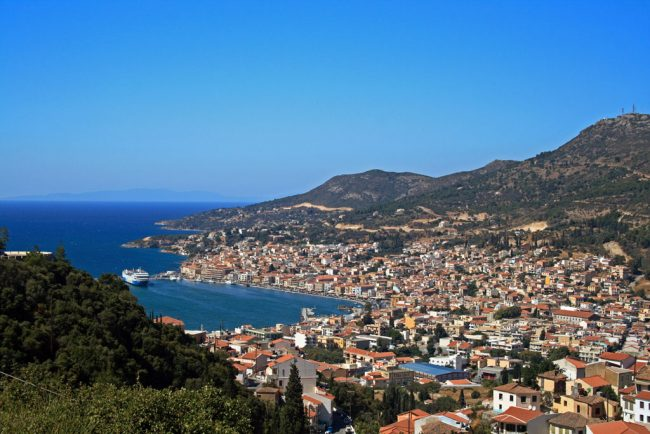 Cyclotourism in Samos