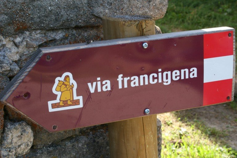 Via Francigena on bike with the Touring Club