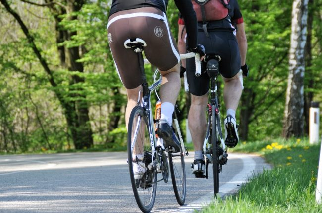 Tendinitis in cycling
