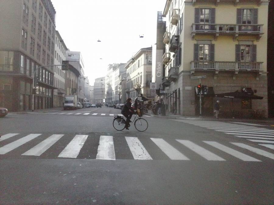 A city without cars: reflections on the block to the cars in Milan