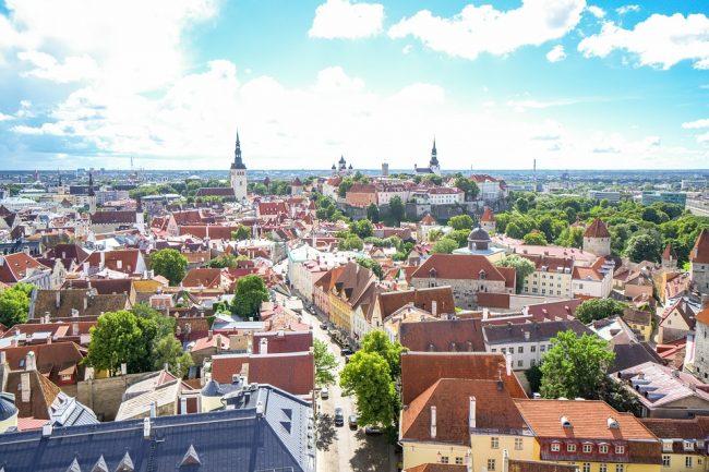 Cycle tracks in Estonia
