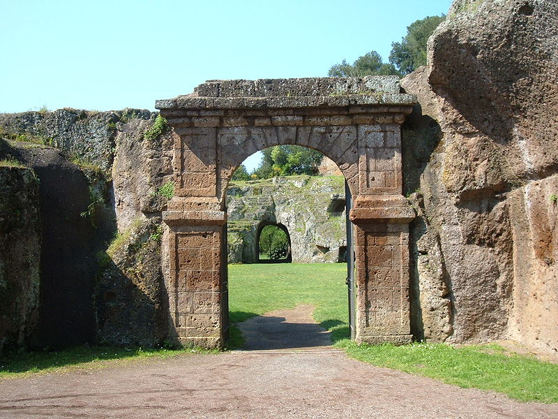 Excursion to the Park of the Ancient City of Sutri