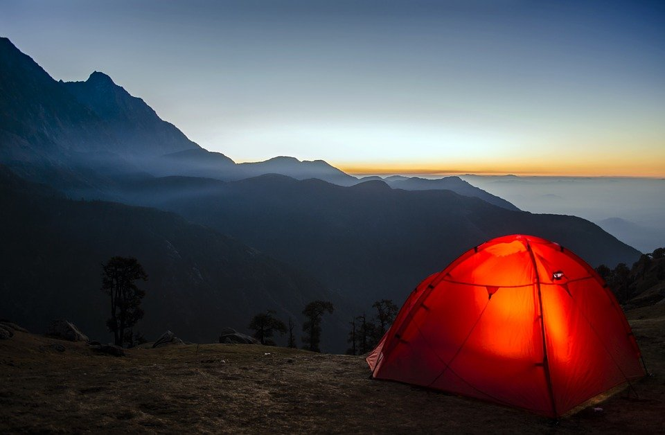How to do free camping during a bicycle tour