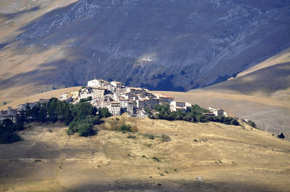 National Park of Monti Sibillini by mountain bike